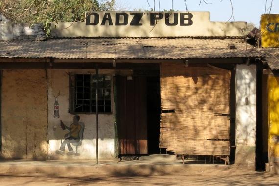 Dadz's Pub in Zambia