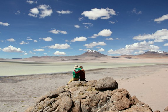 Mike and Anne Howard in Bolivia