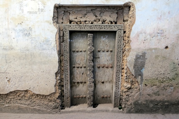 The doors of Zanzibar