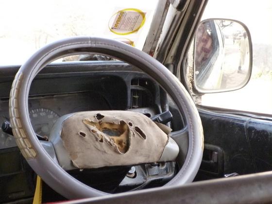 Honking your horn in kenya