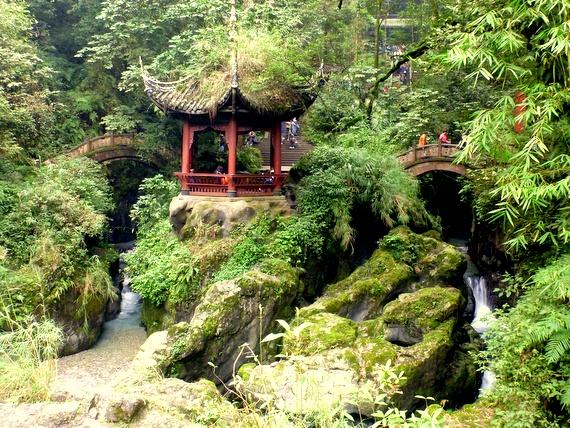 Niuxin Pavilion Emeishan China