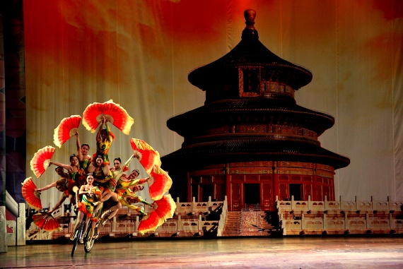 Chaoyang Theatre Chinese Acrobats