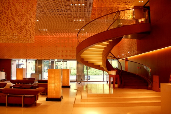 Hyatt Regency Kyoto lobby design