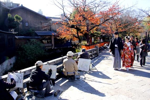 visiting Gion