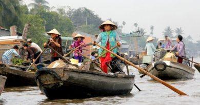 Deep in the Mekong Delta