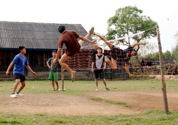 Sepak takraw in Laos