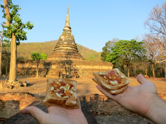 PB & Jelly at Farming the temples of Sukhothai