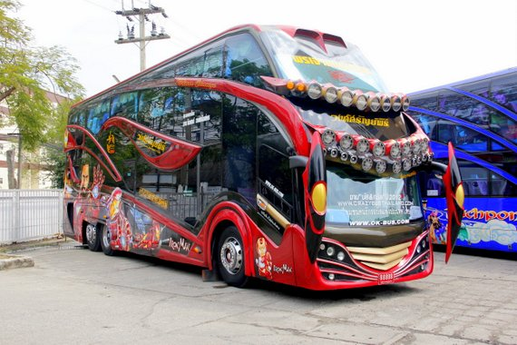 Is this a bus or a spaceship?