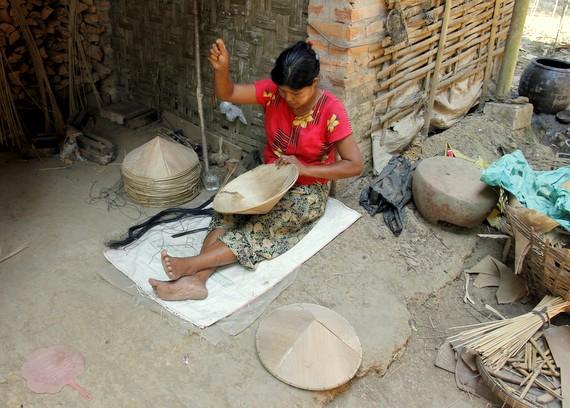 Hats in Myanmar