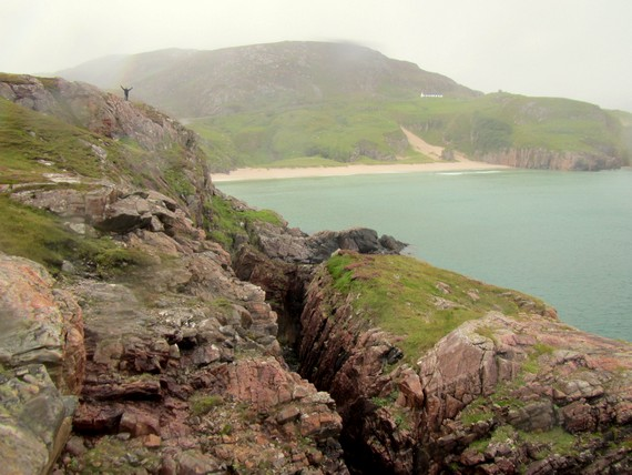 Hiking in Durness