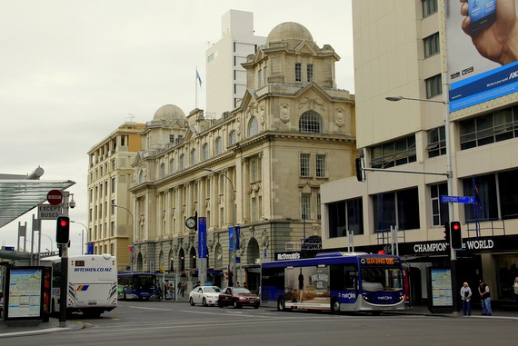 Auckland colonial buildings