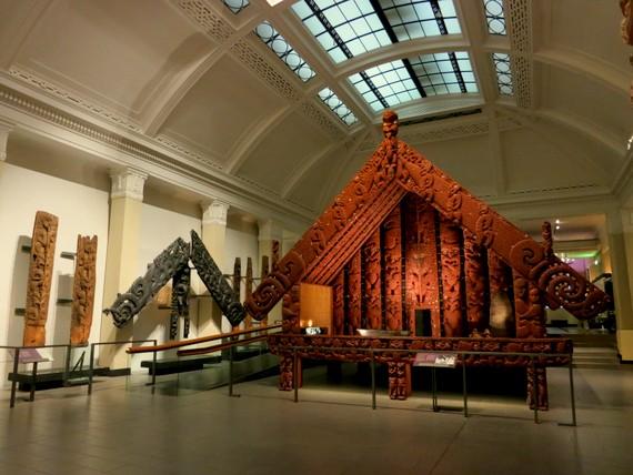 Maori home exhibit