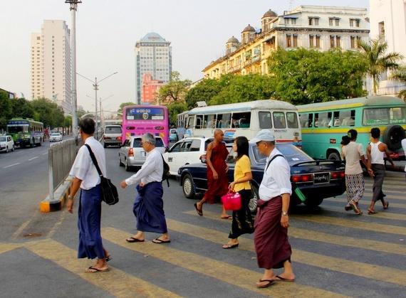 Longyis of Yangon