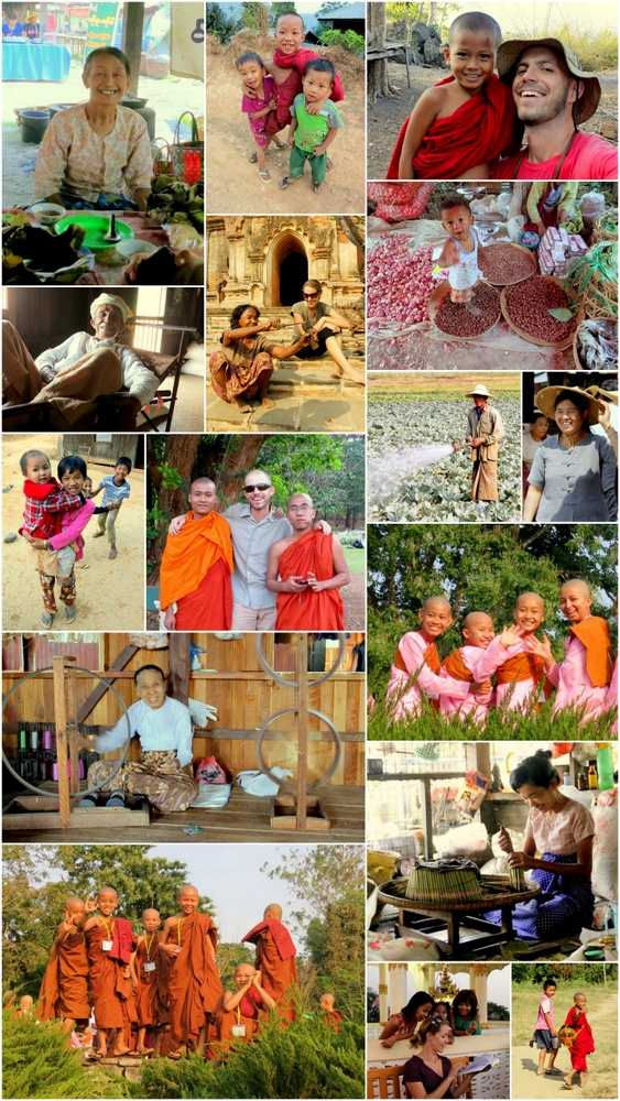 Do people smile in Myanmar