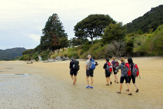 Wilsons Abel Tasman beach hike