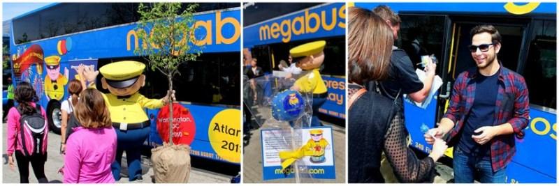 Megabus Arbor Day Earth Day