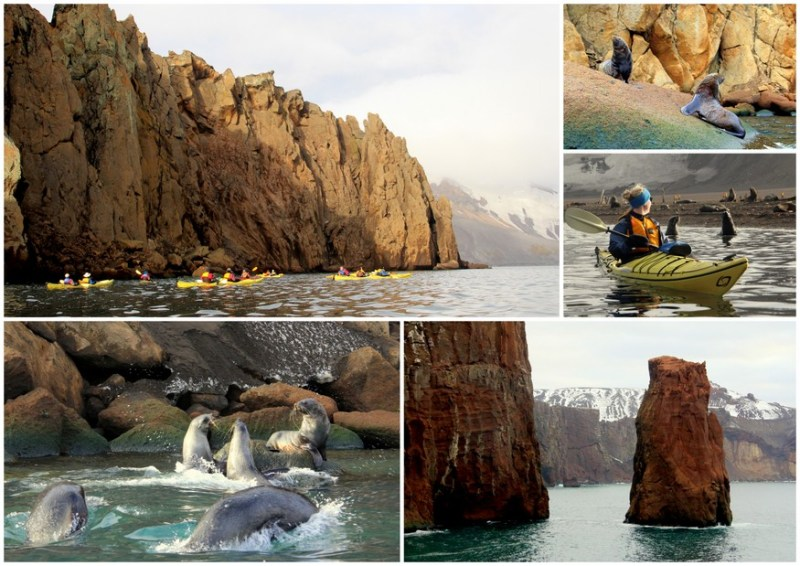 Kayaking South Shetlands