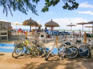 Renting Bikes at Gili T Indonesia
