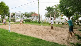 Volleyball at Gili T Indonesia