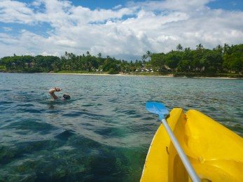 Lombok kayaking
