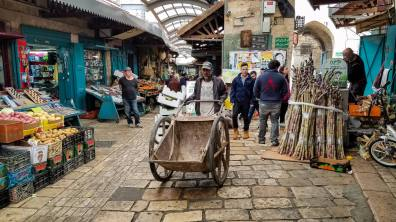 The fascinating and bustling Souk of Akko.