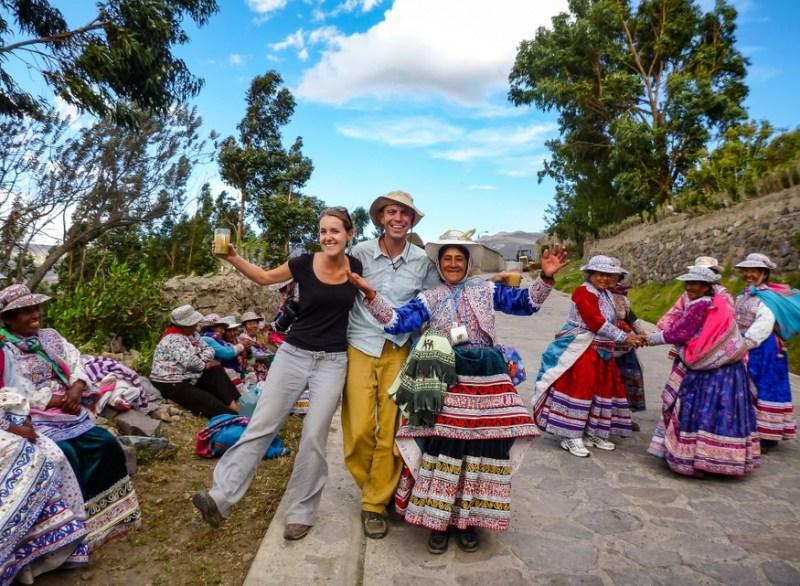 Peruvian street festival
