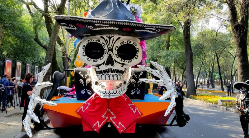 Dia de Muertos Float