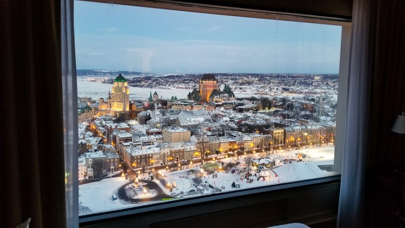 Hilton Quebec Suite