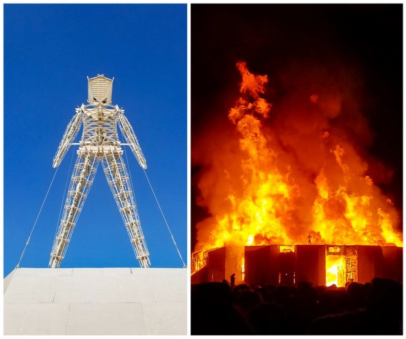 Burning Man Virgin Experience