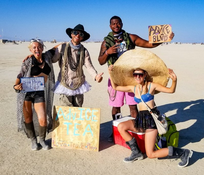 Burning Man Gifting