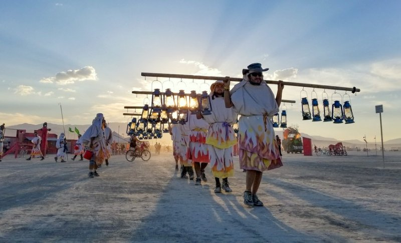 Volunteering at Burning Man