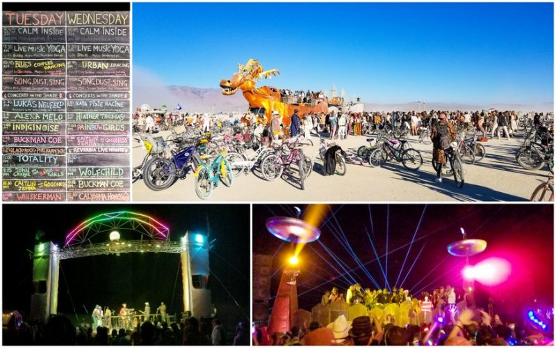 burning man music scene