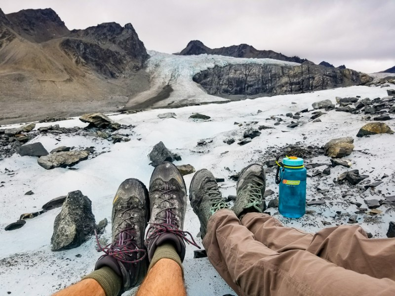 Self-guided glacier hikes, Alaska