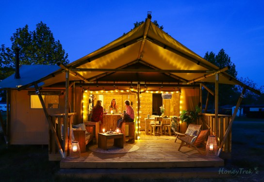 Glamping Party Tent