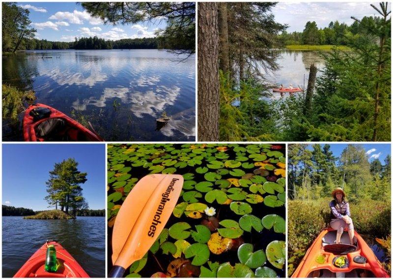 Sylvania wilderness kayaking