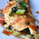 Avocado Black Bean Omelette… Perfect for Mother's Day!  After the Oprah Show – Part 2.