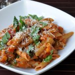 Quick & Easy… Three Pepper Penne Pasta