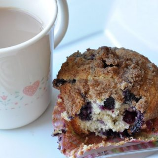 To Die For Blueberry Muffins (REDUCED FAT & 295 Calories)
