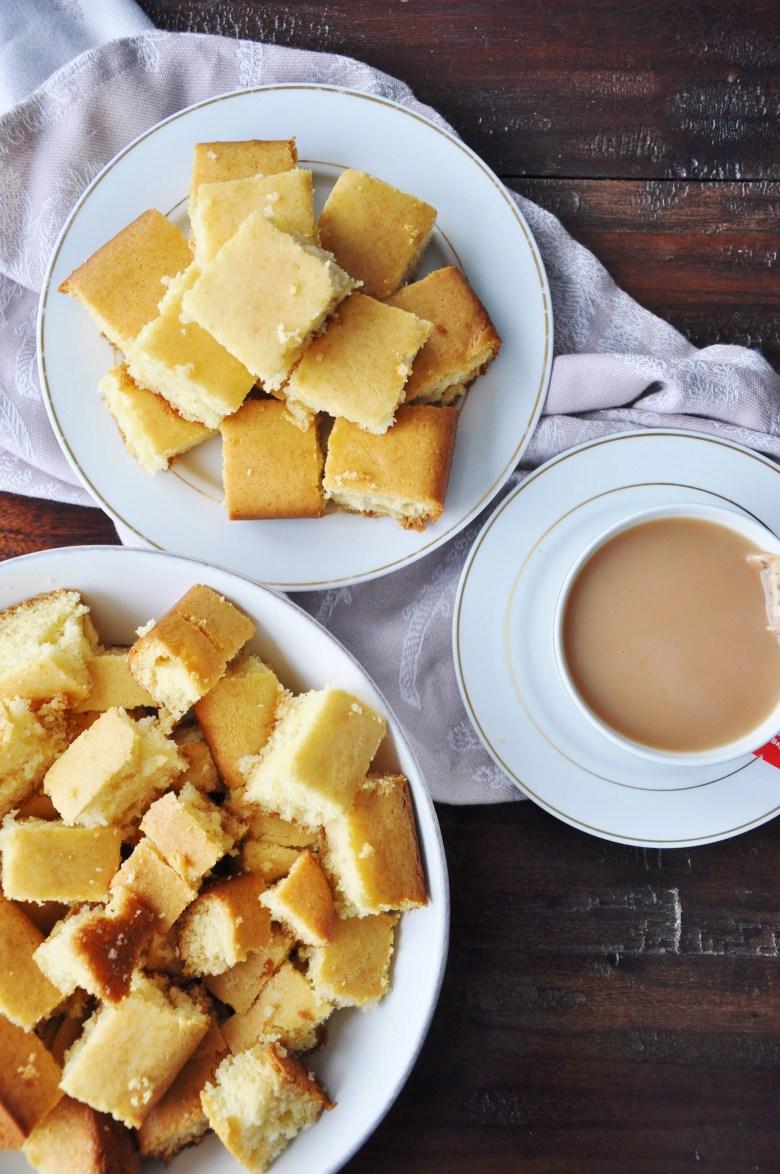 Eggless Condensed Milk Vanilla Cake