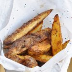 Baked Cajun Fries… Say NO to Grease!