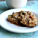 """Healthier"" Chewy Oatmeal Raisin Cookies (95 Calories)"
