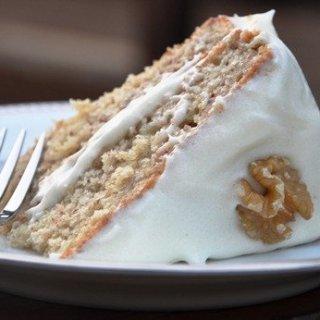 The World's BEST Banana Cake & Cream Cheese Frosting!