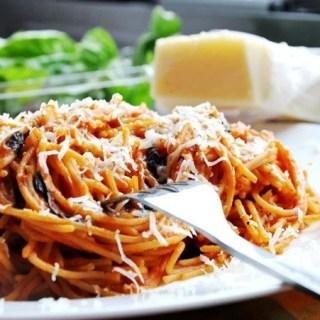 World's BEST Spaghetti with RAO's Homemade Marinara!