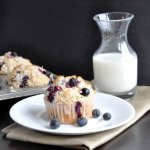 Toasted Coconut Blueberry Muffins (reduced fat)