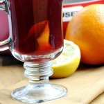 Hot Pomegranate Toddy