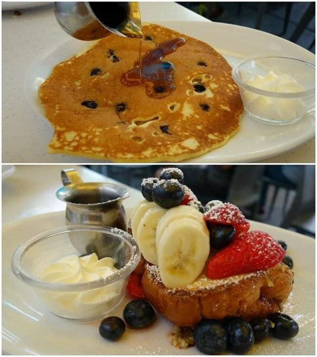 Lemon Ricotta Pancakes, Stuffed French Toast - The Cottage La Jolla