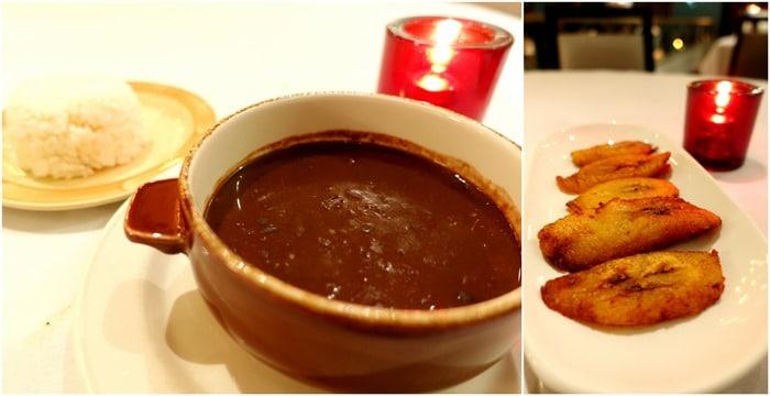 Black Beans & Rice, Plátanos Maduros Fritos - Victor's Cafe