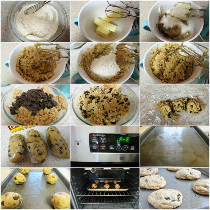 The New York Times Chocolate Chip Cookies step by step