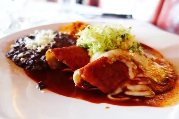 Braised Short Rib Enchiladas - Red O, Newport Beach, CA
