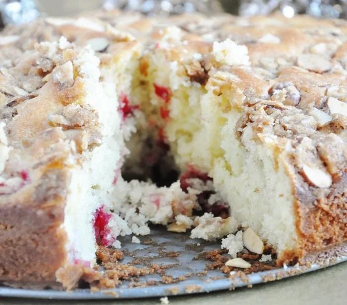 Cranberry Almond Coffee Cake (1)